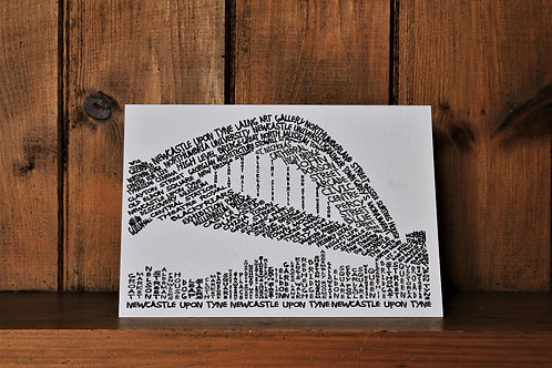 Tyne Bridge Card