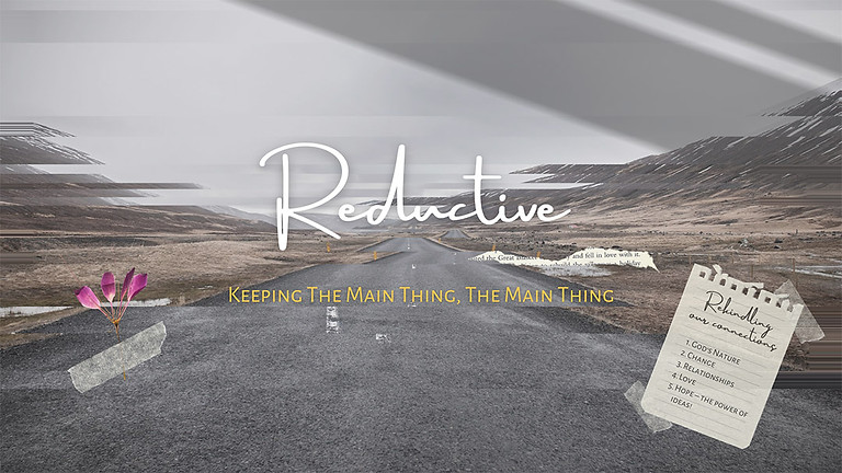 Reductive - Sun Msg Series