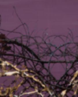장진수, 기억의 재생, 옻칠목태캔버스위에 나전, 옻칠, 82x61cm,