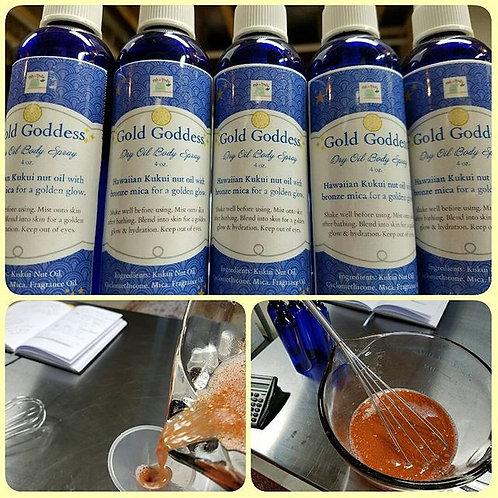 Gold Goddess Dry Oil Body Spray