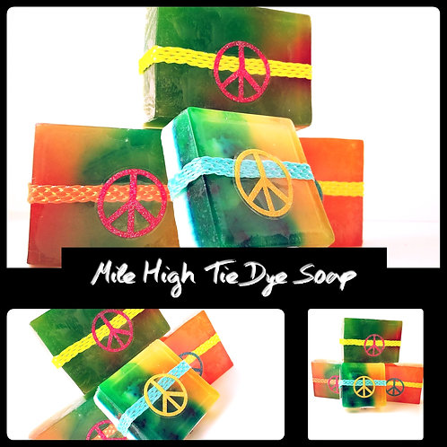 Mile High Tie Dye Hemp Soap