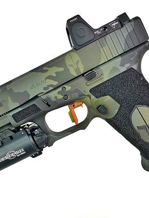 Grip Chop & Laser Engraving