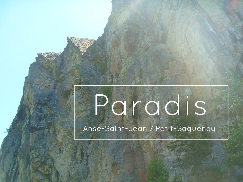 Paroi du Paradis / Trou du Chaos / Lac de l'Ours