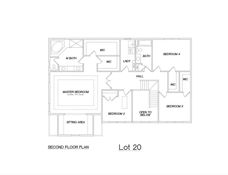202 Maria Elena Dr - Floor Plan