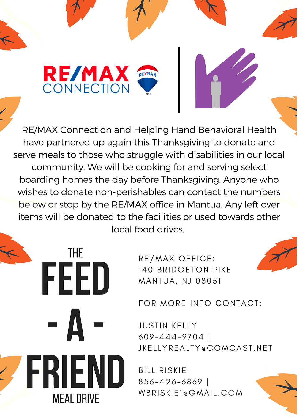 Feed-A-Friend Meal Drive