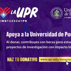 Apoya la Universidad de Puerto Rico