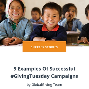5 Examples Of Successful #GivingTuesday
