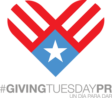 Logo oficial Giving Tuesday Puerto Rico
