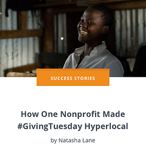 How One Nonprofit Made #GivingTuesday Hy