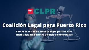 Brindando servicios legales a las organizaciones en PR