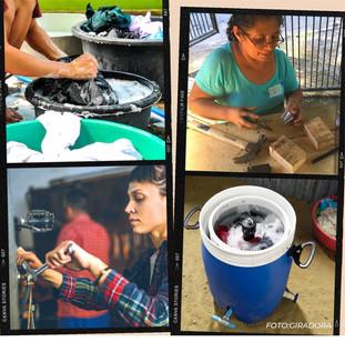 ¡Apoya a las mujeres comerieñas a crear una lavadora mecánica!