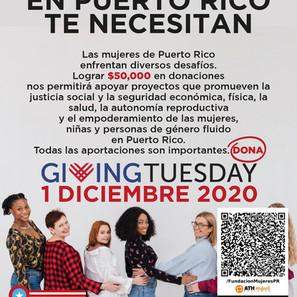 Las mujeres en Puerto Rico te necesitan