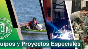 Equipos y proyectos especiales de estudiantes