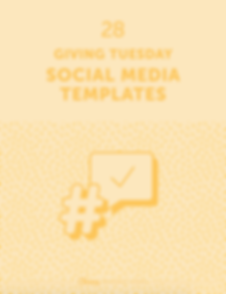 28 Giving Tuesday Social Media Templates