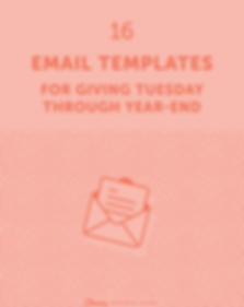16 email templates for giving Tuesday th
