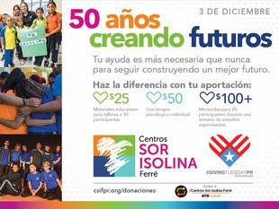 ¡50 años construyendo futuros!