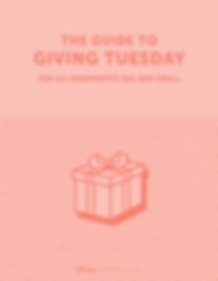 The Guide to Giving Tuesday for All Nonp