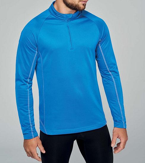KARIBAN | Sweat running zip Homme PA335