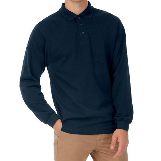 B&C | Polo manches longues Homme CGSAFML