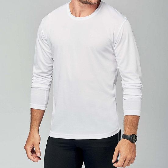 KARIBAN | T-shirt sport manches longues Homme PA443