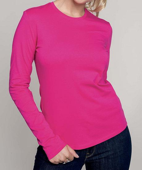 KARIBAN | T-shirt manches longues Femme K383