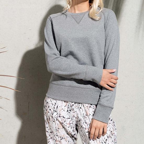 KARIBAN | Sweatshirt col rond Femme K481