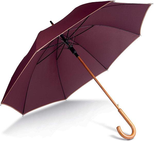 KIMOOD | Parapluie mât en bois KI2020