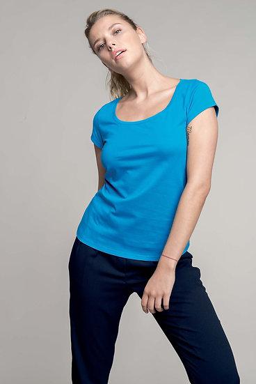 KARIBAN | T-shirt col bateau Femme K384