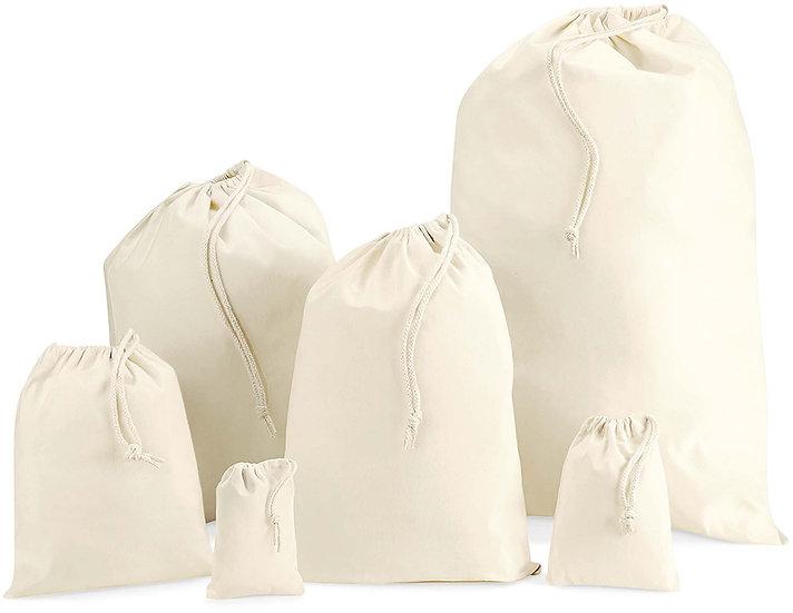 WESTFORD MILL | Sac coton cordelettes W115
