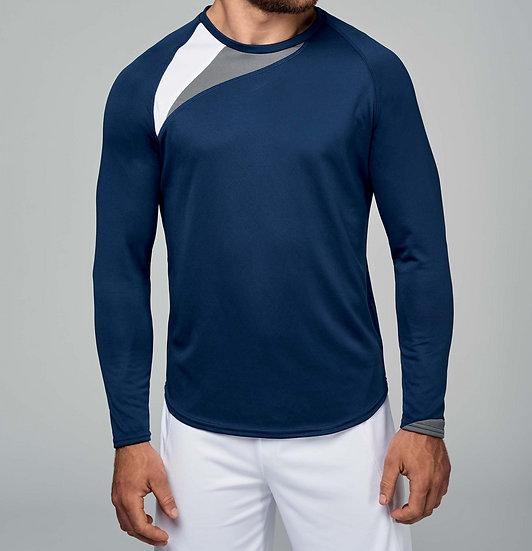 KARIBAN | T-shirt sport manches longues Unisexe PA408
