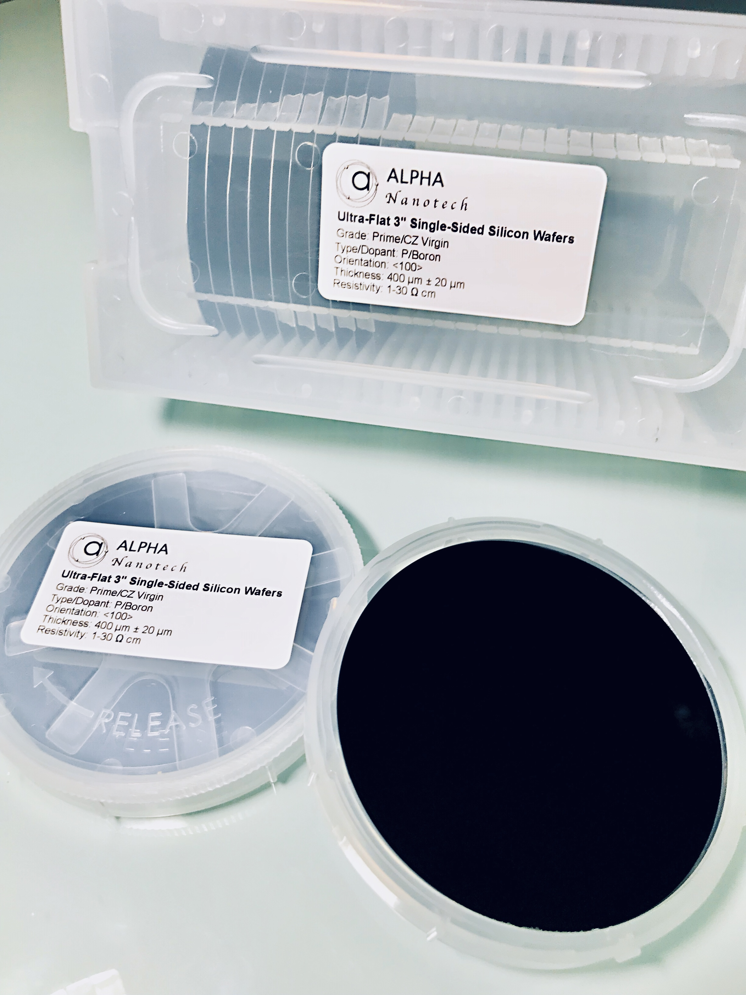3'' Silicon Wafers