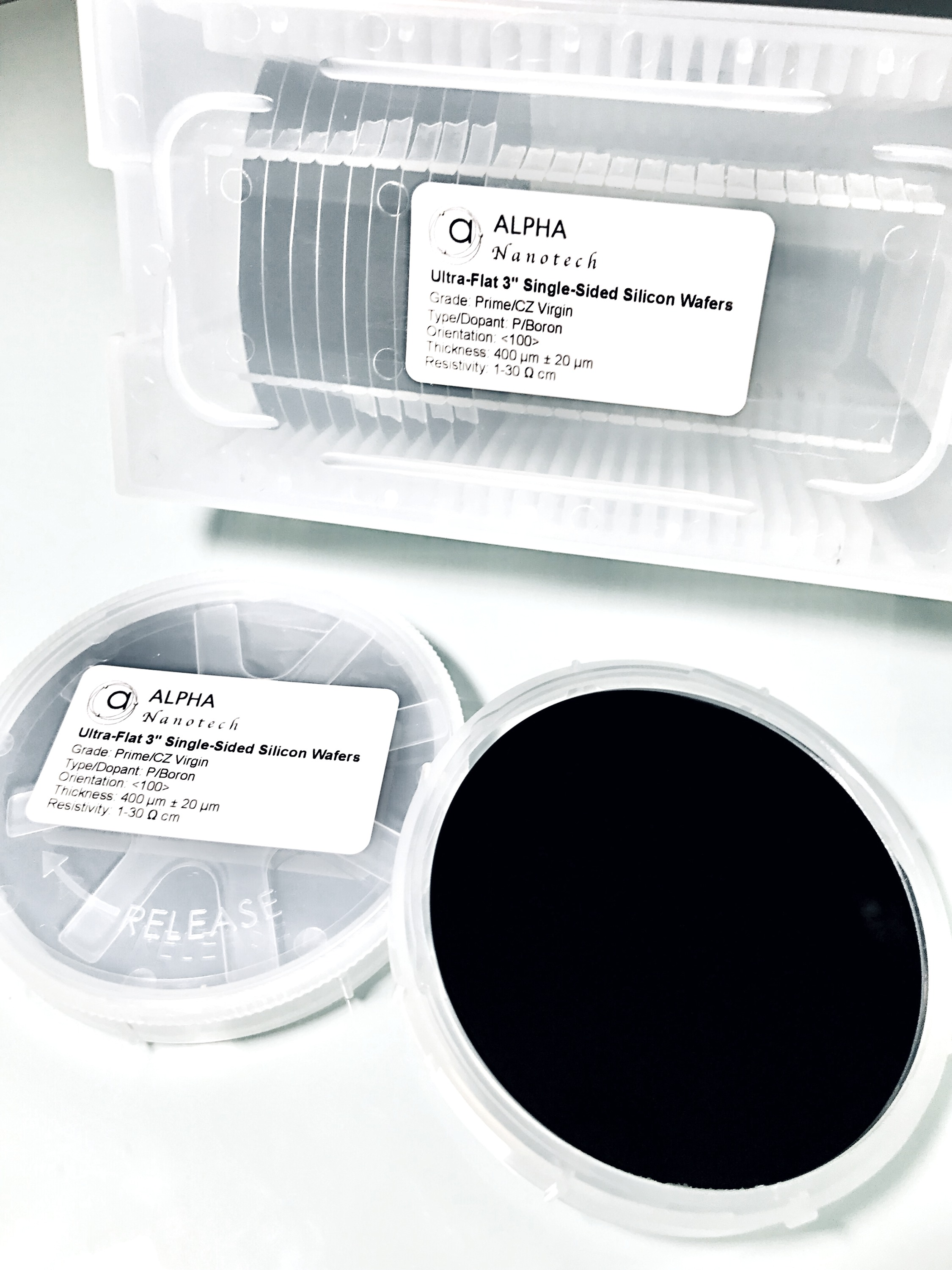 3 inches Silicon Wafer