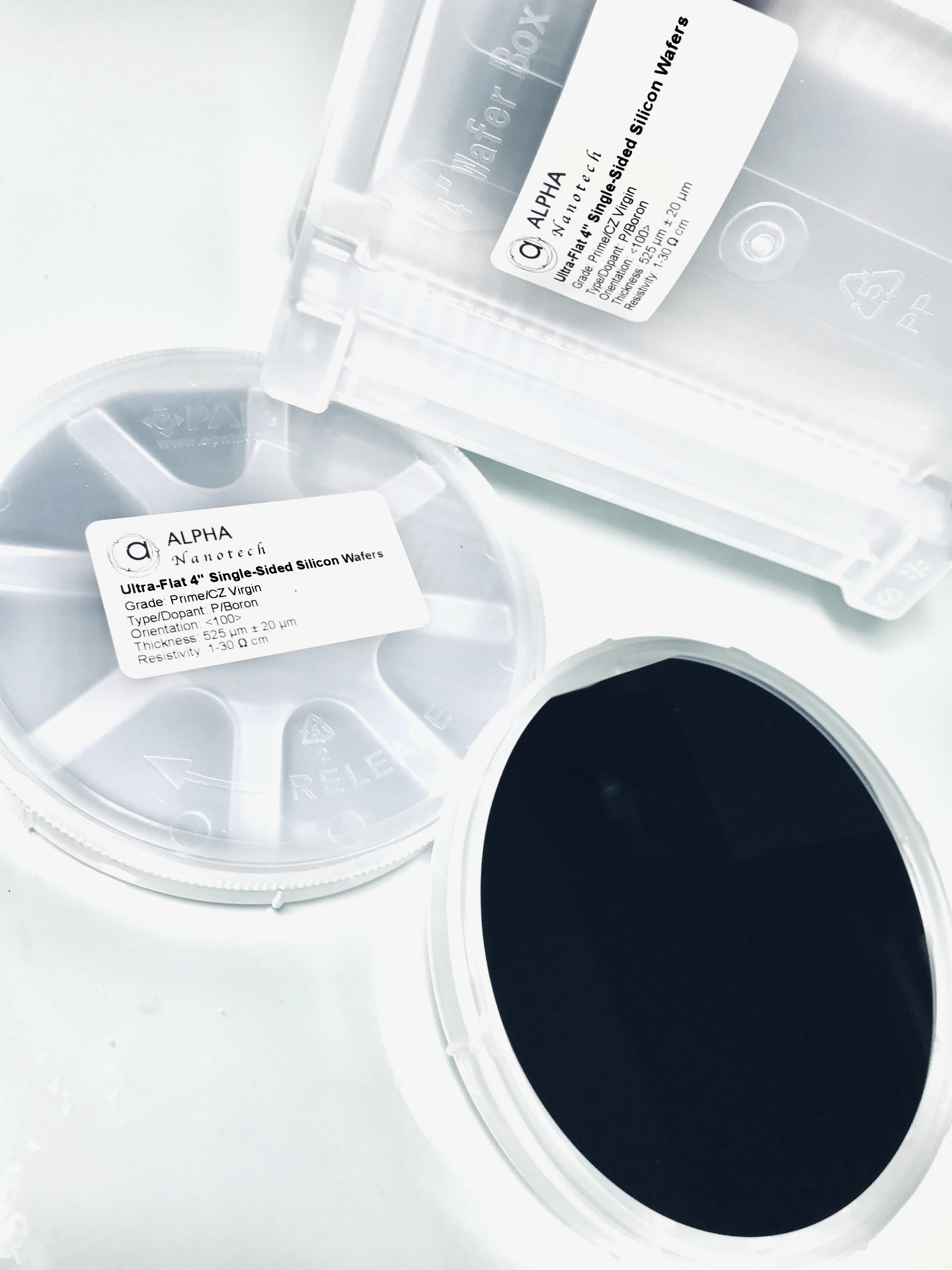 4 inches silicon wafer