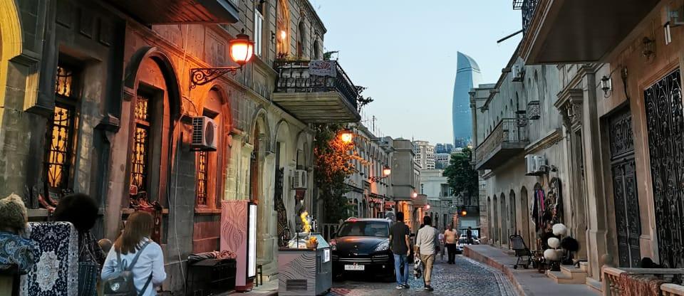 Baku Old City Night