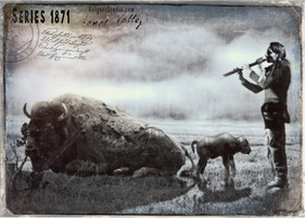 Welcome Flute. Yellowstone 1871