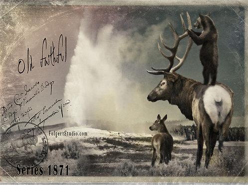Better View.  Yellowstone 1871
