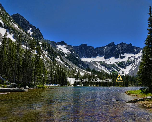 Crazy Mountains Twin Lakes