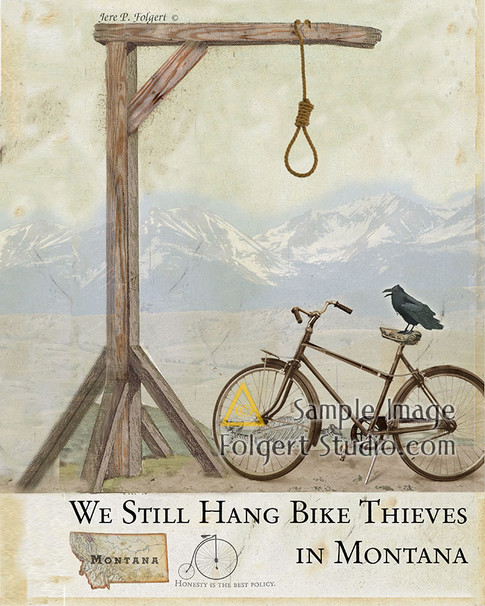 Still Hang Bike Thieves