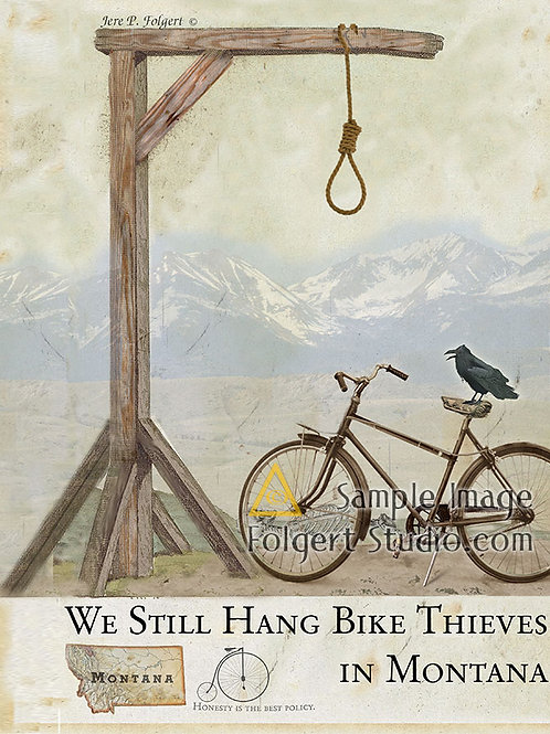 Hang Bike Thieves
