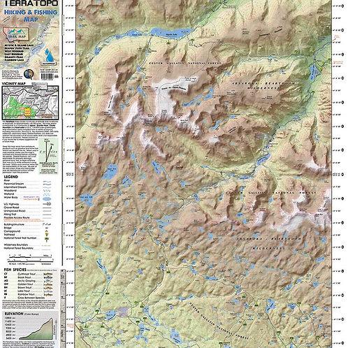 TerraTopo Hiking Map