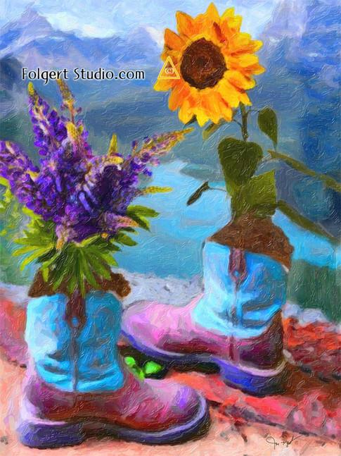 Sunflower Boot