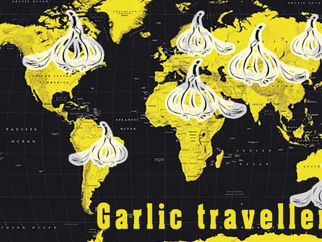 What are the Origins of Garlic - the World Traveller?