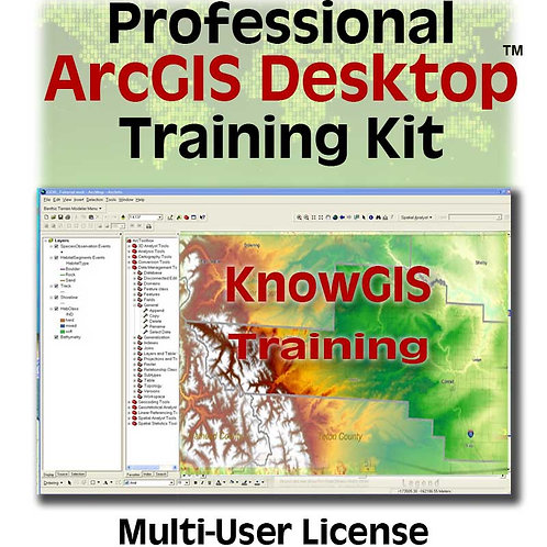 Professional Training for ArcGIS Desktop 10.x (multi-user license)