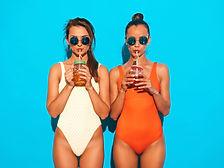 two-beautiful-sexy-smiling-women-summer-