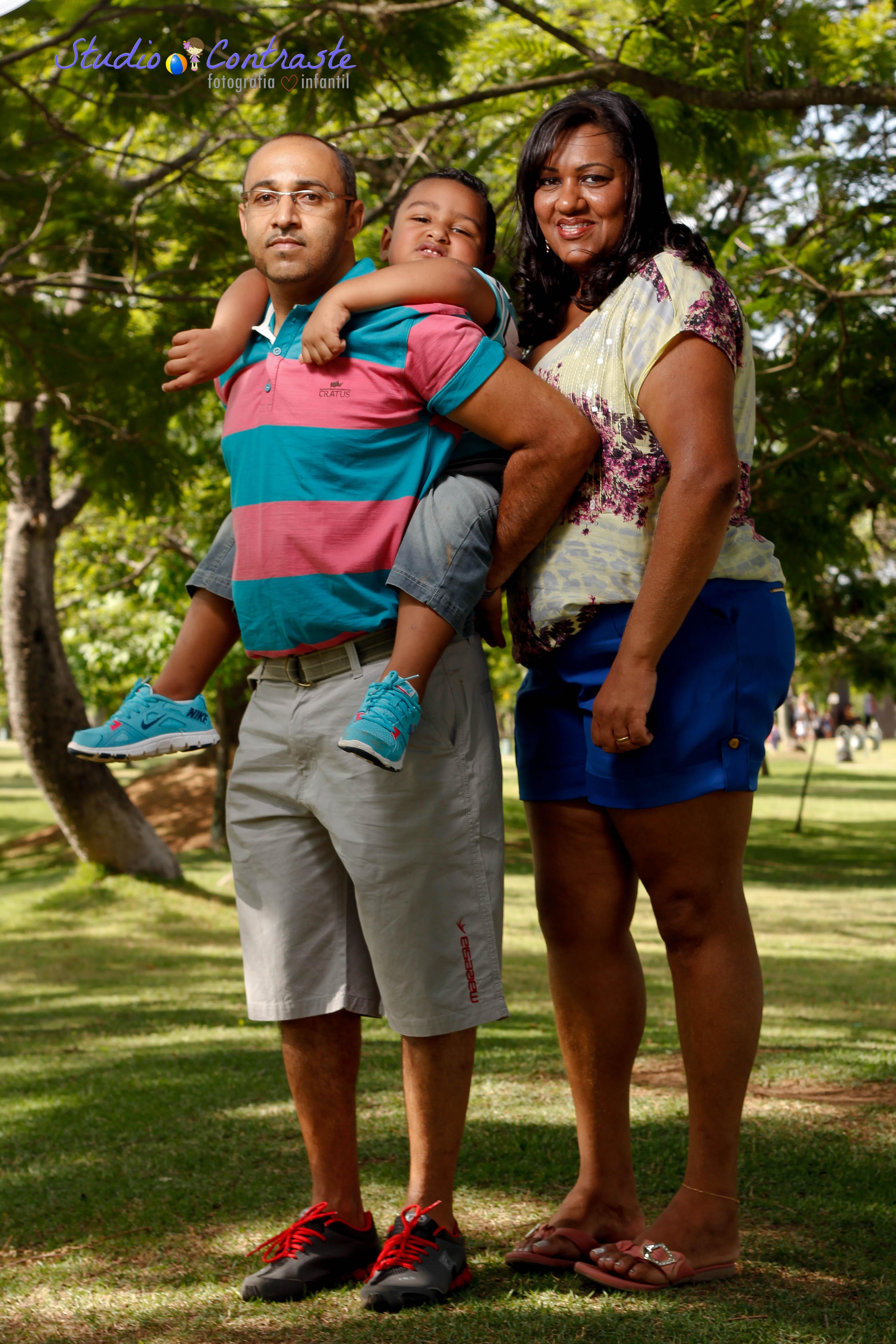 Nikollas & família