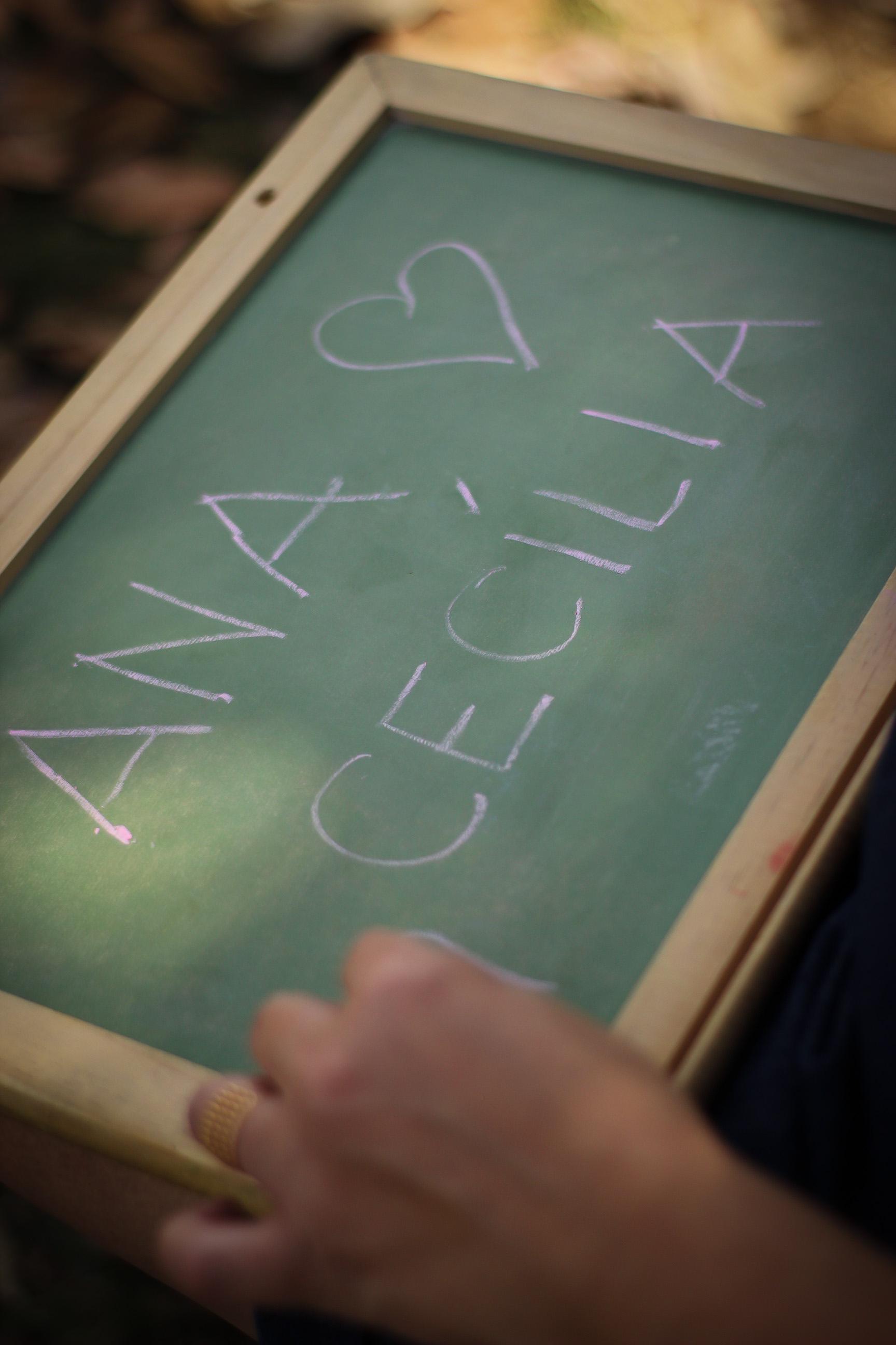 Ana Cecília está chegando!