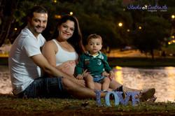 Lorena & família