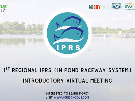 Event on spotlight : 1st Regional IPRS ( IN POND RACEWAY SYSTEM) Introductory Virtual Meeting