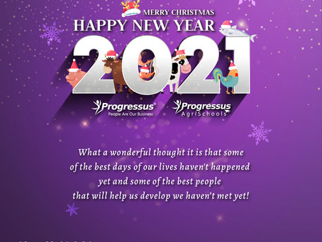 Happy New Year from Progressus