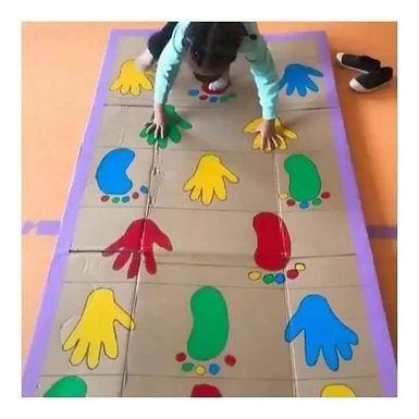 Parcours pieds mains
